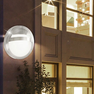 Design LED Wand Strahler Außen Beleuchtung Hof Mauer Leuchte 7 Watt Garten Lampe