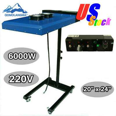 Us Stock 20 X 24 Screen Ir Flash Dryer With Sensor Screen Printing Warm Dryer