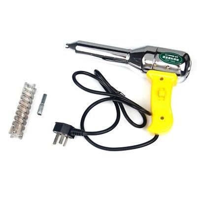 500w 220-240v Plastic Welding Hot Air Gun Torch Welder Pistol W Nozzle Gw