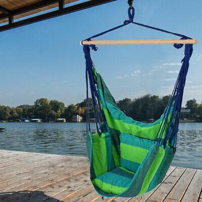 Diseño Cubrir Colgante Sillón Terraza Madera Textil Silla Poliéster Azul 2x