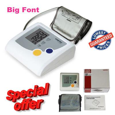 Auto Digital Arm Blood Pressure Monitor BP Cuff Machine Gaug