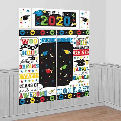 Abschluss Szene Setter Klasse Von 2020 Party Wand Dekoration Hintergrund Farben
