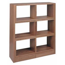 Dwell Extendable Shelving Cabinet - walnut