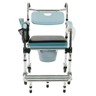 New Medical Commode Shower Commode Wheelchair Bedside Toilet