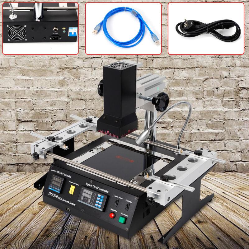 IR6500 BGA IR Rework Station Repair Heating Infrared Reballing Machine 110V USA
