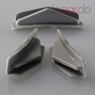 1XFührungs Clip Equilibrio Guía Cristales Laterales para Citroen Saxo Peugeot