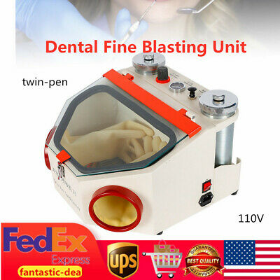 Dental Fine Blasting Unit 2pen Sandblaster Sandblast Polish Polishing Machine Us