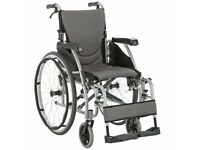 Karma Ergo 125 wheelchair with TGA Power pack