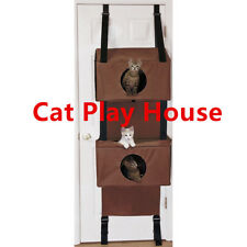 Sortwise® Cat Scratched Hammock Condo Kitten House Post Bed Toys Cat Furniture