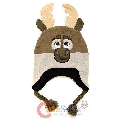 Frozen Sven Beanie Peruvian Knitted Beanie Laplander Costume Cap Hat](Sven Frozen Costume)