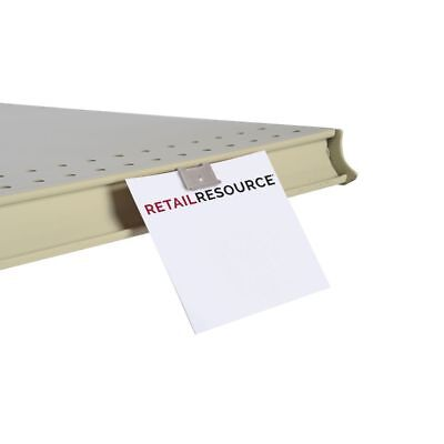 Gondola Shelf Edge Fold-n-hold Sign Clip 50 Per Bag 44309