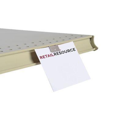 Gondola Shelf Edge Fold-n-hold Sign Clip 50 Per Bag 44309