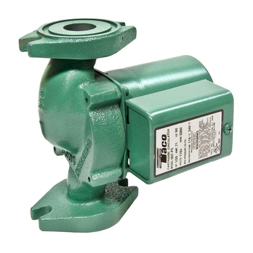 Pump Circulator Cast Iron Taco Quiet Hydronic Boiler Replace