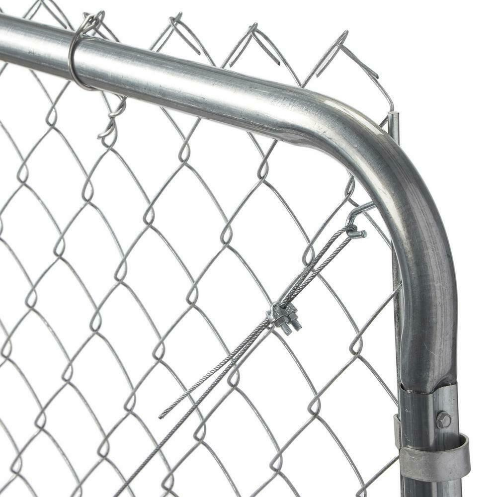 Galvanized Metal Adjustable Single Walk Through Chain Link