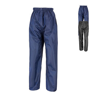 Result Junior Kinder Kids Waterproof Over Trousers Regenhose wasser-, winddicht