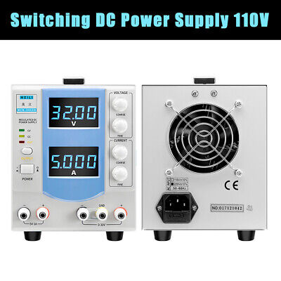 Switching Precision Variable Dc Power Supply Adjustable 160w Accurate Display Us