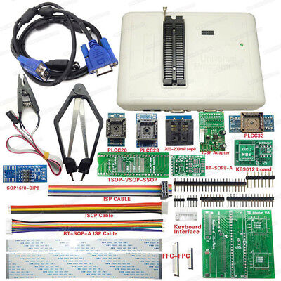 Rt809h Emmc-nand Flash Usb Universal Bios Programmer 12 Adapters With Cabels