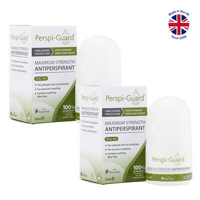Perspi-Guard® Maximum Strength Antiperspirant Roll-On 30ml TWIN PACK