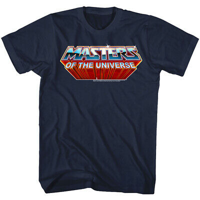 Masters of the Universe Chrome TV Logo Men's T Shirt He-Man She-Ra Skeletor
