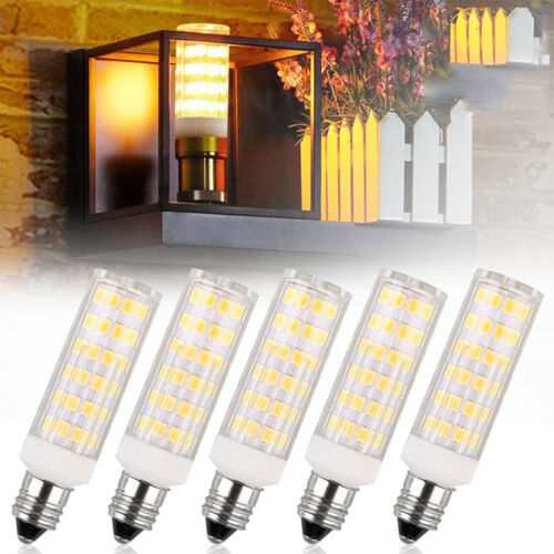 5x Mini E11 Bulb Candelabra LED Dimmable Ceiling Fan Table/D