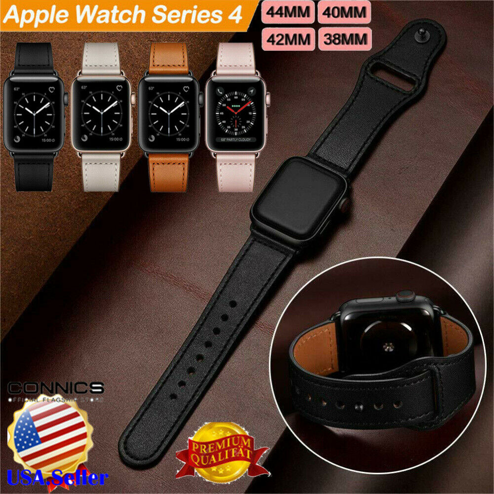 Genuine Leather Herms Belt Apple Watch Band Strap for iWatch