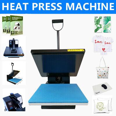 15x15 Digital Clamshell Heat Press Machine Sublimation Transfer For T Shirt