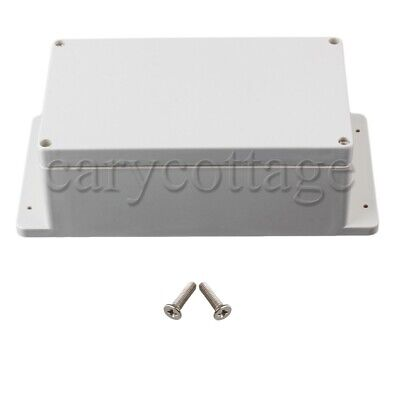 Waterproof Outdoor Plastic Electrical Junction Project Box With Screws