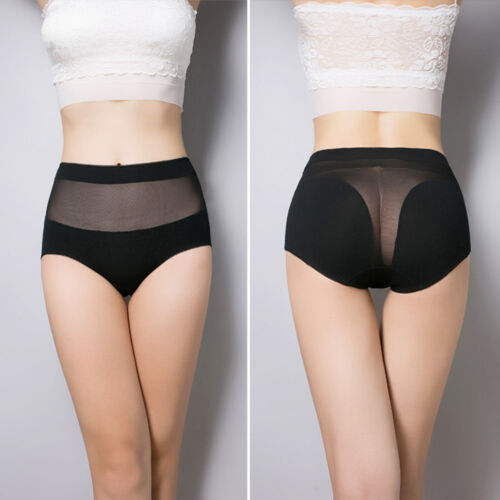 Fashion Women's High Waist Body Shaper Brief Underwear Panties Shapewear Onesize