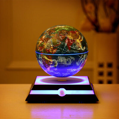 Floating Levitating Globe & Constellation Map for Christmas Birthday Gift 6 inch