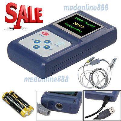 Handheld Veterinary Pulse Oximeter With Tongue Spo2 Probepc Software