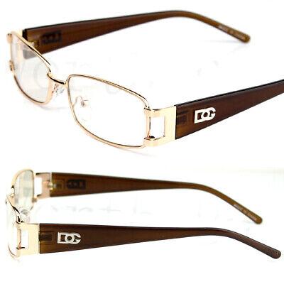New Mens Womens Clear Lens Rectangular Frame Fashion Designer Eye Glasses (Mens Fashion Spectacles)