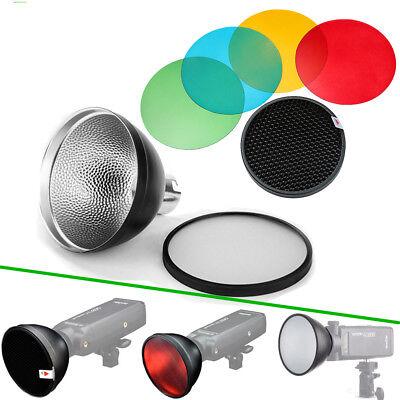 Godox AD-S2 Reflektor Diffusor + AD-S11 Farbfilter Set für AD200 AD360II Blitz