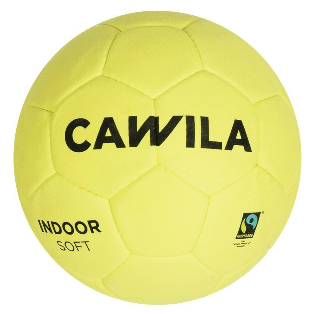 Cawila Fussball INDOOR SOFT Hallen-Fussball Halle Größe 5