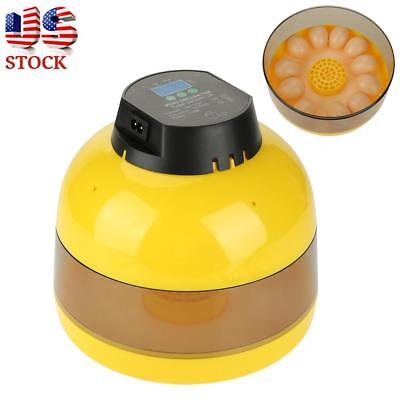 Automatic Digital 10 Eggs Incubator With Alarm System for Duck Bird Chicken Egg