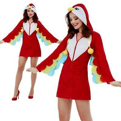 Erwachsene Papagei Kostüm Tropische Vögel Tier Damen Kostüm - Tropische Kostüme