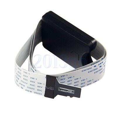 TF Micro SD To SD Card Extension Cable Adapter Flexible Extender For Car GPS YG