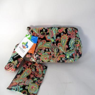 Kalencom New Orleans - Laminated Pram Buckle Bag with Accessories Unused + Tags