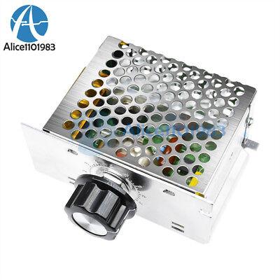4000w 220v Ac Scr Motor Speed Controller Module Voltage Regulator Dimmer