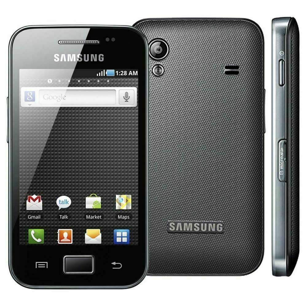 Android Phone - Samsung Galaxy Ace BLACK S5830i Andriod 3G Unlocked Mobile Phone BASIC PHONE