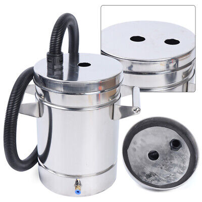 8 Liter Stainless Steel Fluidized Powder Hopper Bucket Cup For Coating Machine