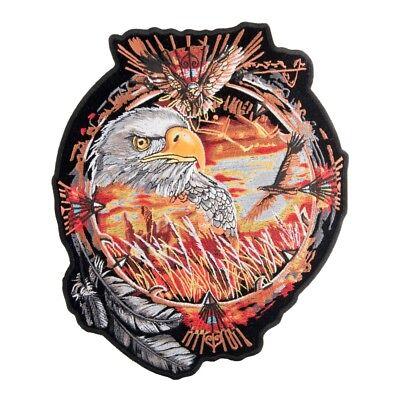 Native American Dreams Eagle Patch, Dream Catcher Patches (Native American Dreams)