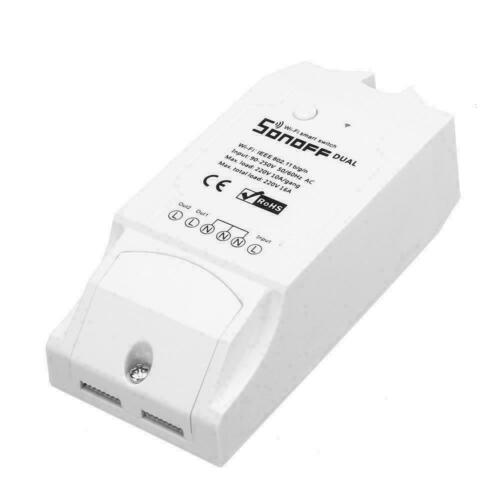Sonoff Dual R2 Smart Home Switch Voice APP Remote Control Official UKDistributor