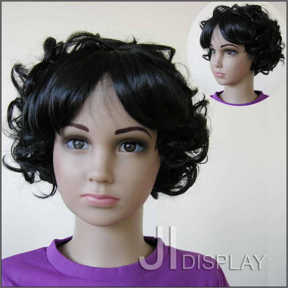 JI DISPLAY Kinder Perücke Wig für Kinderpuppen Mannequin Schaufensterpuppe 005-2