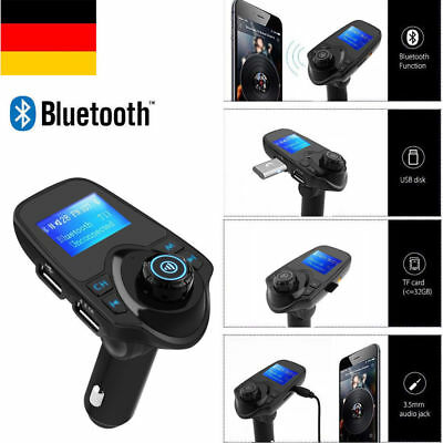 Bluetooth Car Kit FM Transmitter Wireless USB MP3 Player T11 Auto Kfz Einbausatz