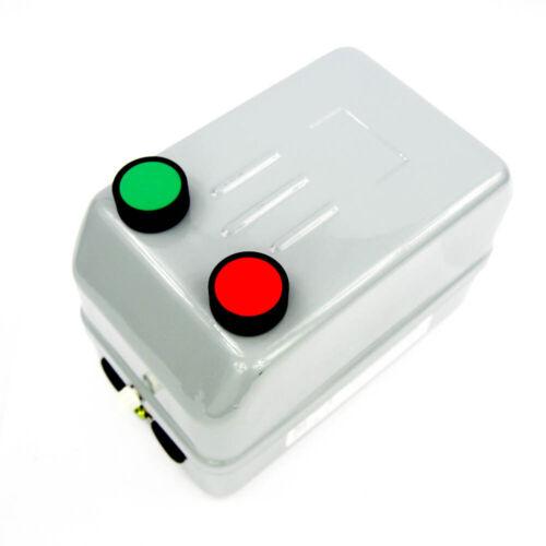 IEC MOTOR STARTER 120VAC 32A 3P Non Reversing Start/Stop Buttons