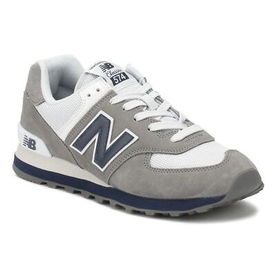 New Balance 574 Core Plus Grey/Blue/White ML574ESD Mens Running Shoes ()