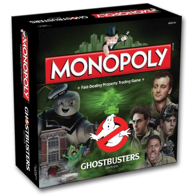 Monopoly Ghostbuster Edition Family Board Game from Hasbro - 001964