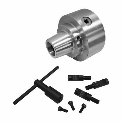 5 Inch Diameter 5c Collet Chuck With Integral D1-4 Cam Lock Mounting Workholding