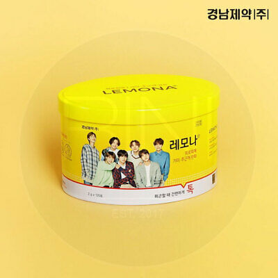 BTS LEMONA Pakage Ellipse CAN Random 120pcs Pharmacy Package + tracking Number
