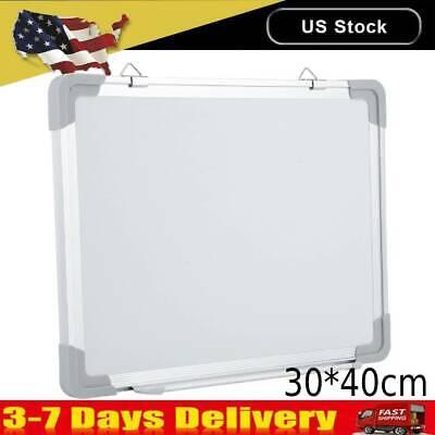 3040cm Magnetic Whiteboard Office Dry Wipe Drawing Writing Erase Board School